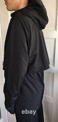 LULULEMON Size 10 Nonstop Rain Jacket NWT NEW Black Studio Define Wind