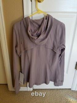 Lululelmon Hooded Define Jacket Nulu Size 12
