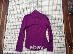 Lululemon Brushed Define Jacket, Tender Violet (Purple), Size 6 NWT, RARE Color