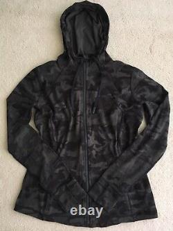 Lululemon Define Hooded Jacket Incognito Camo Multi Gator Green 2 4 6 14