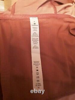 Lululemon Define Hooded Jacket Velvet size 6