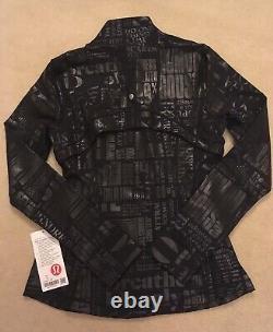 Lululemon Define Jacket 20BB 20YR Manifesto Foil Black 12