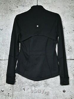 Lululemon Define Jacket 8 Black Shape New Without Tags