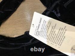 Lululemon Define Jacket Black/Gold NWT Size 6