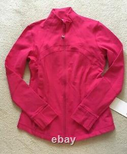 Lululemon Define Jacket CLYS Calypso Pink 10