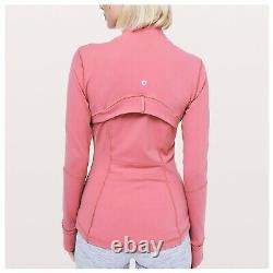Lululemon Define Jacket Cherry Tint 8 NWT