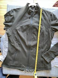 Lululemon Define Jacket Dark Olive First Release Luon New Wo Tags Sz 14