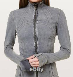 Lululemon Define Jacket Garment Dye size 10 Washed Luna NWT Gray Grey Luon Coat