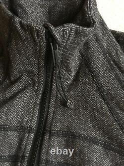 Lululemon Define Jacket Heathered Herringbone Heathered Black 10 12 2017 Release