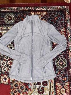 Lululemon Define Jacket Heathered Slate 8/m New