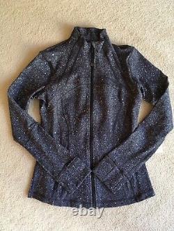 Lululemon Define Jacket Luminesce Splatter White Black 8