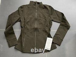 Lululemon Define Jacket Luon Size 8 Dkov Dark Olive Green New Nwt $118