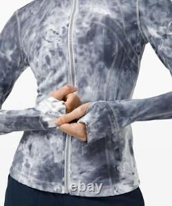 Lululemon Define Jacket Lux Marble Dye Size 14 NWT