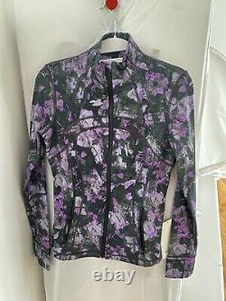 Lululemon Define Jacket Luxtreme Floral Shift Multi Size 6 NWT