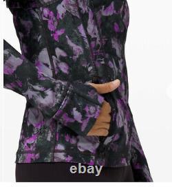 Lululemon Define Jacket Luxtreme / Size 8 / Floral Shift