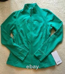 Lululemon Define Jacket Maldives Green 8 10 12 14
