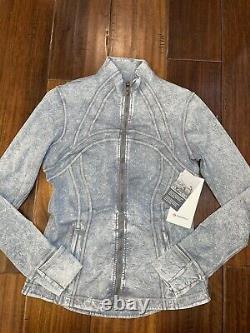 Lululemon Define Jacket Nulux Ice Wash Asphalt Grey Size 8