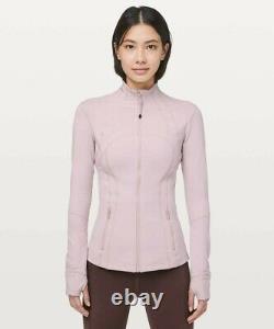 Lululemon Define Jacket Porcelain Pink Size 8
