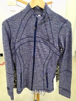 Lululemon Define Jacket Rulu Heathered Hero Blue 4 Or 8