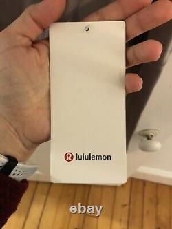 Lululemon Define Jacket Size 12 Gray/ Pink NWT