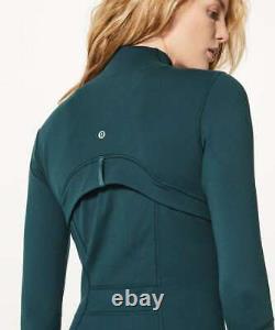 Lululemon Define Jacket Size 12 Submarine NWT Sea Blue Green Yoga Luon Coat NEW