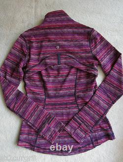 Lululemon Define Jacket Space Dye Twist Regal Plum Alarming 10