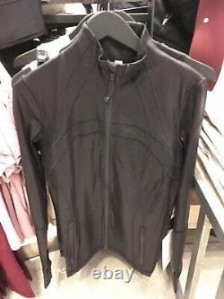 Lululemon Define Jacket Spark Luminosity Foil Print Black 10