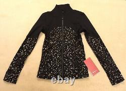 Lululemon Define Jacket Spark Lunar New Year Black Gold 14 RARE