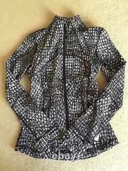 Lululemon Define Jacket Tectonic Jacquard White Black 6