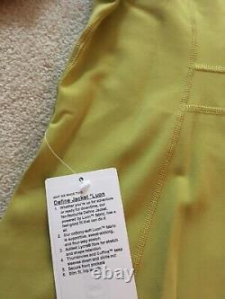 Lululemon Define Jacket Yellow Pear 6 8 10 12