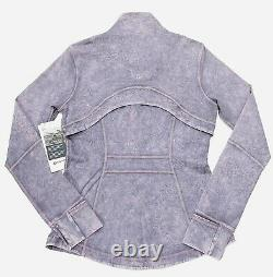 Lululemon Define Jacket in Ice Dye Ice Wash Violet Verbena Size US/8 UK/12
