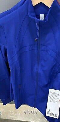 Lululemon Define Jacket size4,6,8,10,12 Air Force Blue