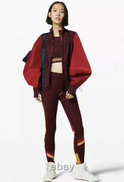 Lululemon Face Forward Define Jacket GARN/CALI Size 6 NWT