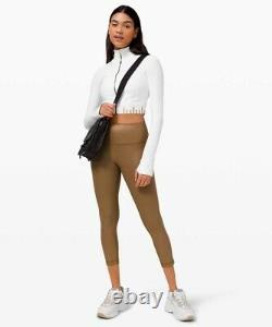 Lululemon Gold Special Edition Cropped Define Jacket White / Size 8