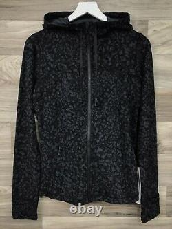 Lululemon Hooded Define Jacket Nulu Size 10 Wild Thing Camo Deep Coal WLTD 30507