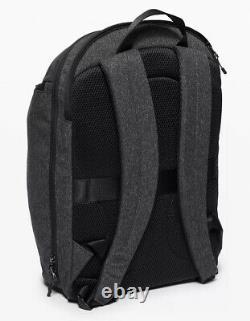 Lululemon O/S Define Backpack II Gray HBLK 19L Adventure 15 Laptop Padded Pckt
