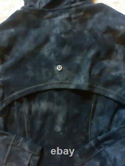 Lululemon Outfit Set Hooded Define Jacket and Align Pants Nulu Diamond Dye 6