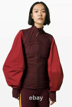 Lululemon ROKSANDA Face Forward Define Jacket GARN/CALI Size 4 NWT
