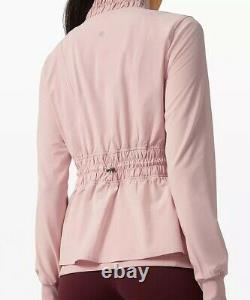 Lululemon Sights Seen Jacket Size 6 NWT Misty Pink