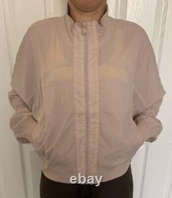 Lululemon Size 10 Serve It Jacket Muse MUUS Zip Up Forme Define HighNeck Light