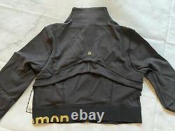 Lululemon Size 12 Define Jacket Cropped Black Gold NWT Special Edition FREE SHIP