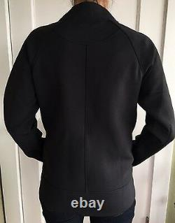 Lululemon Size 4 Embrace The Space Jacket Black Sweat Relaxed Define Thermo NWT