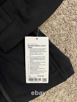 Lululemon Women's Hooded Define Black Nulu Jacket Size 16