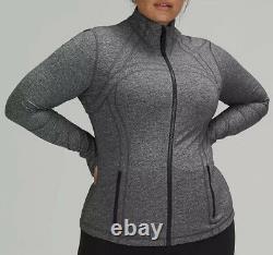 Lululemon Women's Size 20 Define Jacket Luon Heathered Black LW4AWCS-HBLK New