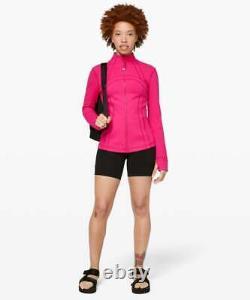 MWT Lululemon Define Jacket SIZE6Calypso Pink
