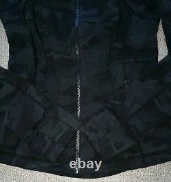 NEWLululemon ALOHA Hawaii LIMITED ED Incognito CAMO Black DEFINE Jacket 6