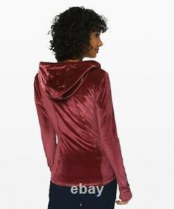 NEW LULULEMON Define Hooded Jacket Velvet 2 Garnet FREE SHIP