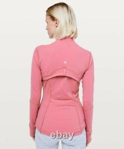 NEW LULULEMON Define Jacket 10 12 Cherry Tint FREE SHIP