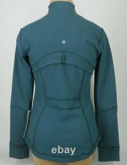 NEW LULULEMON Define Jacket 10 Green Jasper FREE SHIP