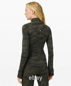 NEW LULULEMON Define Jacket 12 14 Heritage 365 Camo Dark Olive Multi FREE SHIP
